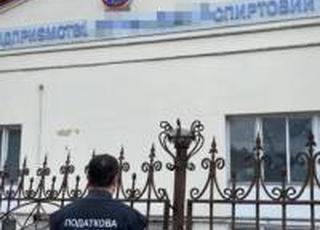 На заводі «Укрспирту» вилучено незаконно виготовлений спирт на 4,5 млн гривень